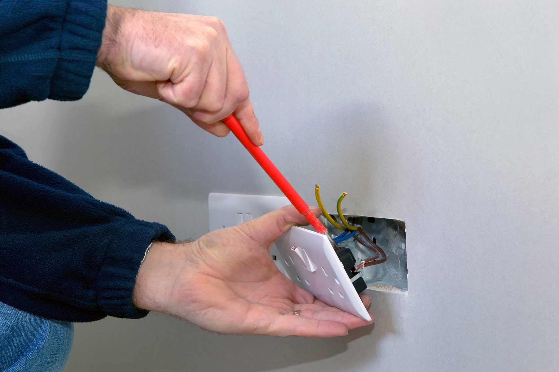 Our electricians can install plug sockets for domestic and commercial proeprties in Putney and the local area.